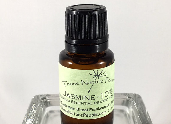 Jasmine Essential Oil 10% Diluted