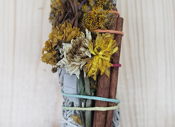 Autumn Harvest Smudge Stick