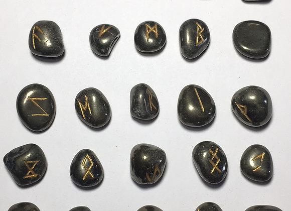 Runic Symbol Set - Iron Pyrite
