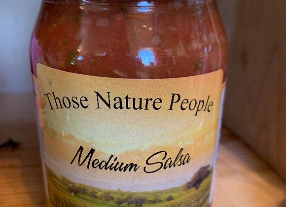 Medium salsa pint jar