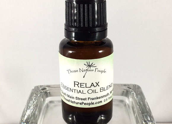 Relax Blend Essential Oil 15ml