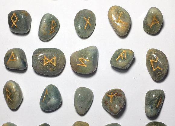 Runic Symbol Set - Fuschite