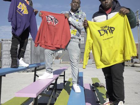 Team Drip video and photo shoot!