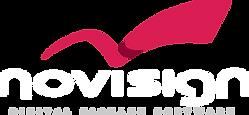 White Logo Novisign.png