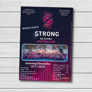 Poster Zumba Strong