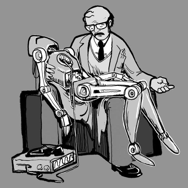 Robot Pieta