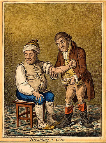The Barbershop and Blood Letting Services
