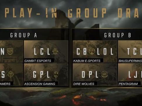 MSI 2018: Os grupos estão definidos!