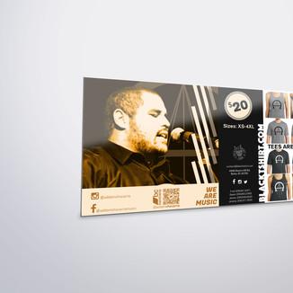 Addam Chavarria Posterboard Design Mockup