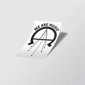 Addam Chavarria Sticker Design Mockup