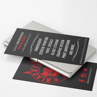 Blacktshirt.com Business Card Design