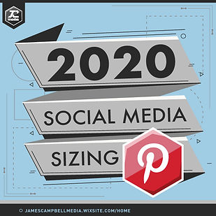Pinterest Image Sizing Template