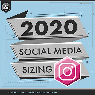 Instagram Image Sizing Template