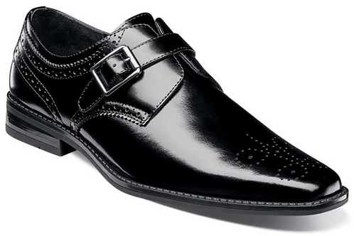 Stacy Adams - Kinsley Plain Toe Monk Strap