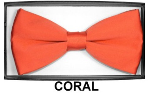 Basic Bow Tie -CORAL