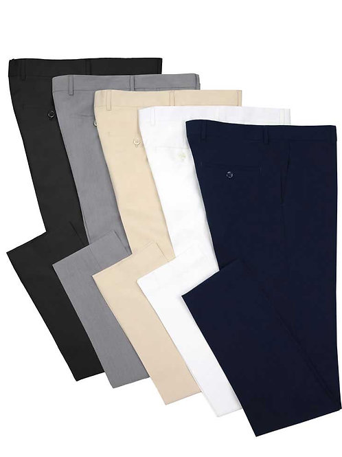 OUS-DX Luxurious Stretch Wool Feel Pants