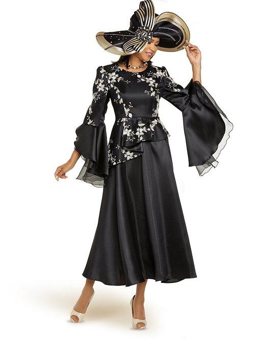 Donna Vinci #11884 Black/Gold