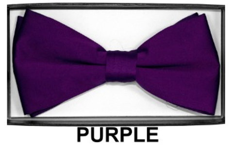 Basic Bow Tie - PURPLE