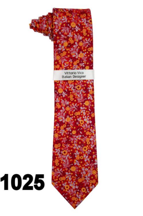 DESIGNER TIE & HANKY - 1025