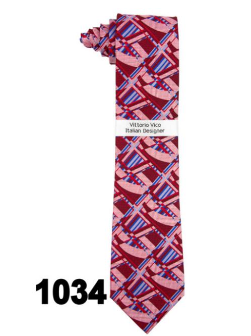DESIGNER TIE & HANKY - 1034