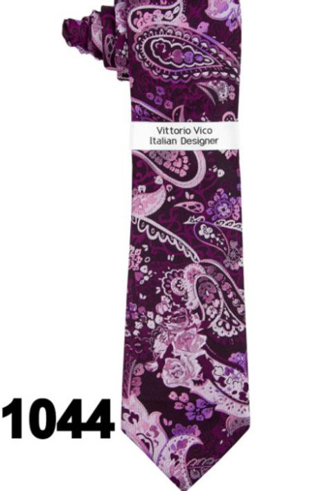 DESIGNER TIE & HANKY - 1044