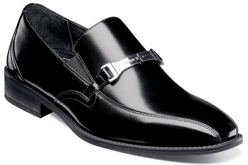 Stacy Adams - Adrian Bike Toe Bit Slip-On