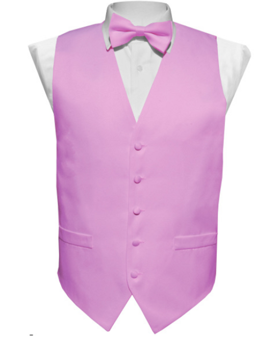 Vest Set Plain - LAVENDER
