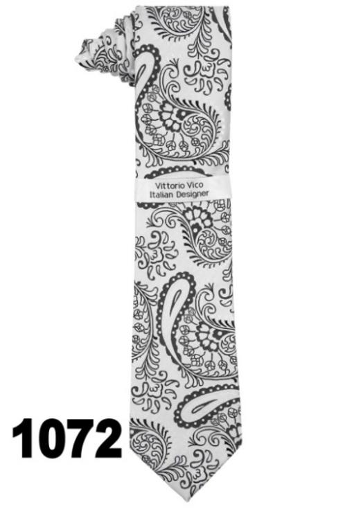 DESIGNER TIE & HANKY - 1072