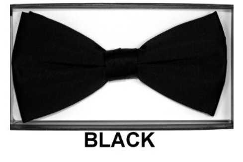 Basic Bow Tie - BLACK