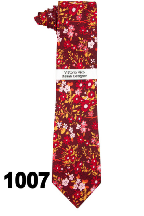 DESIGNER TIE & HANKY - 1007
