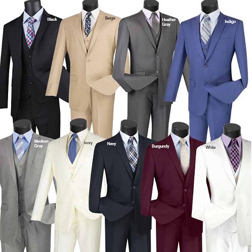 SV 2900 Slim Fit 3 PCS Suit