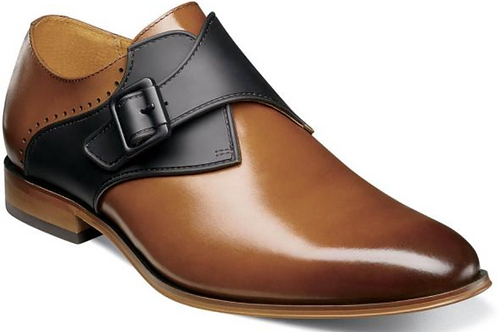 Stacy Adams - Sutcliff Plain Toe Monk Strap