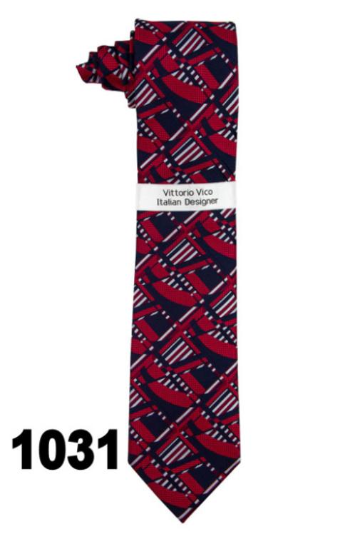 DESIGNER TIE & HANKY - 1031