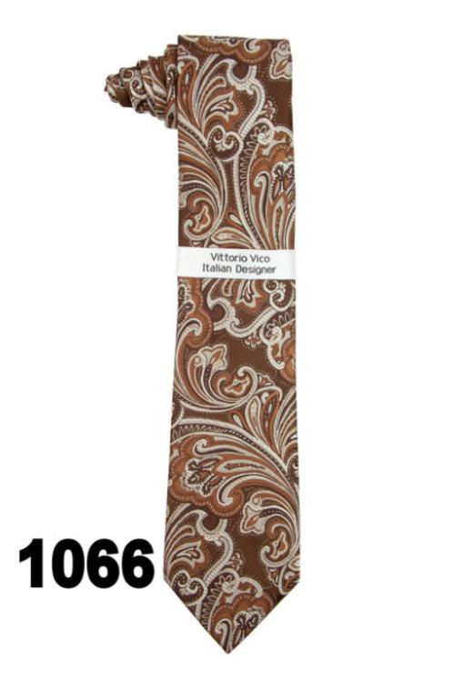 DESIGNER TIE & HANKY - 1066