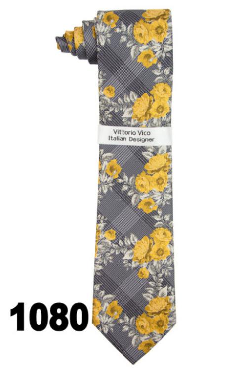 DESIGNER TIE & HANKY - 1080