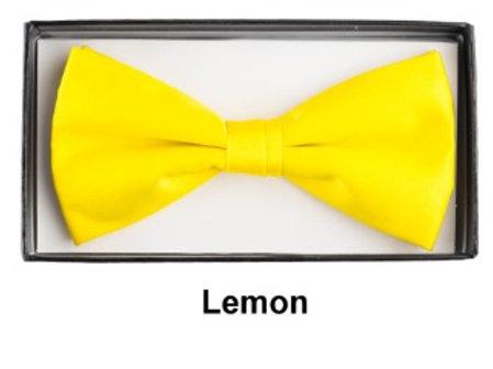 Basic Bow Tie - LEMON