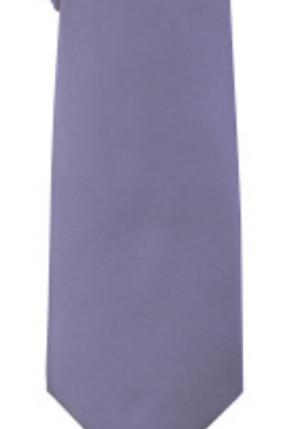 Solid Tie & Hanky - PERRYWINKLE