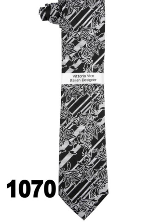 DESIGNER TIE & HANKY - 1070