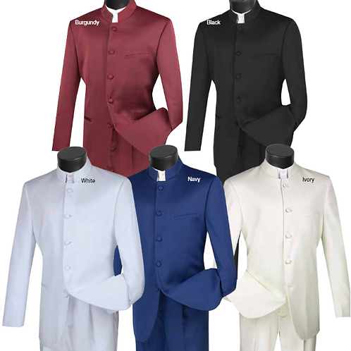5HT Banded Collar Suit