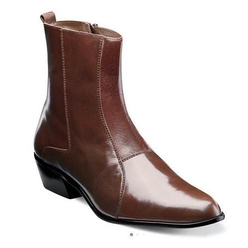 Stacy Adams - Santos Leather Sole Plain Toe Boot