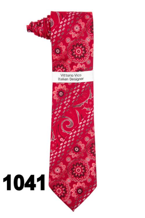 DESIGNER TIE & HANKY - 1041