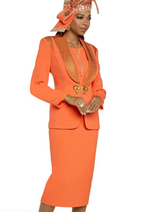 Donna Vinci #11895 Orange