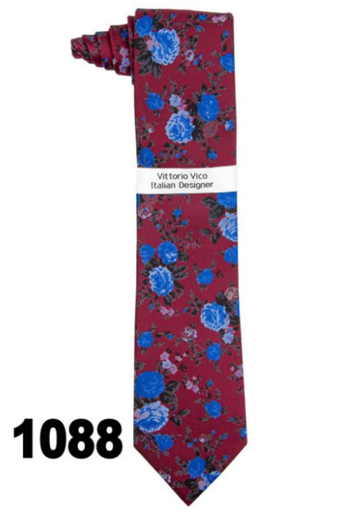 DESIGNER TIE & HANKY - 1088