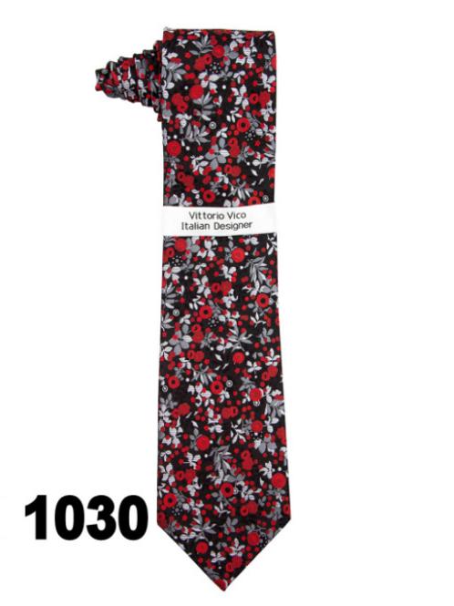 DESIGNER TIE & HANKY - 1030