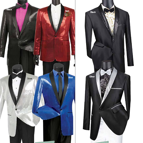 BSQ-1 AND BSQ-3 Sequins Sport Coat Collection
