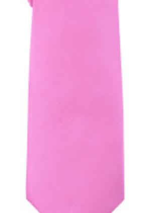 Solid Tie & Hanky - DARK PINK