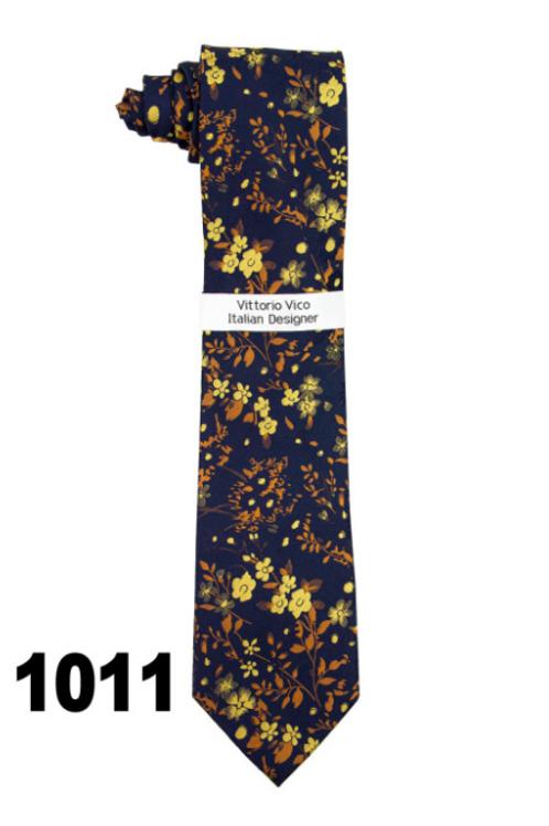 DESIGNER TIE & HANKY - 1011
