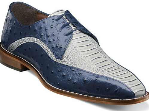 Stacy Adams - Trevi Leather Sole Bike Toe Oxford