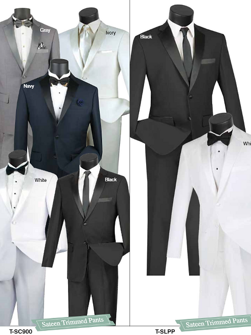 T-SC900 AND T-SLPP Slim Fit Tuxedo