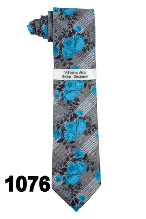 DESIGNER TIE & HANKY - 1076
